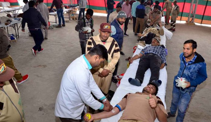 blood-donation camp