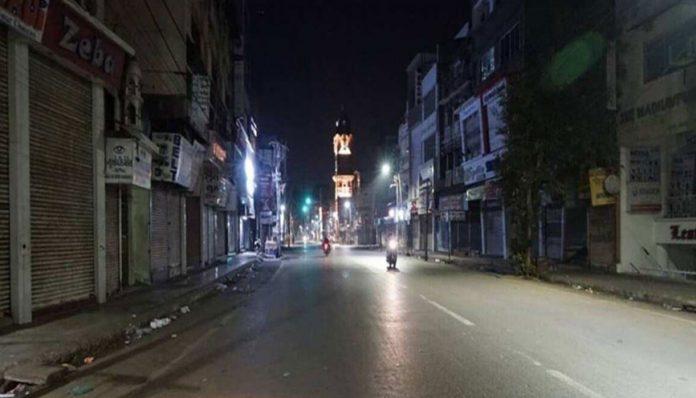 Night Curfew in Kerala