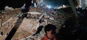 3-storey-building-collapsed SACHKAHOON