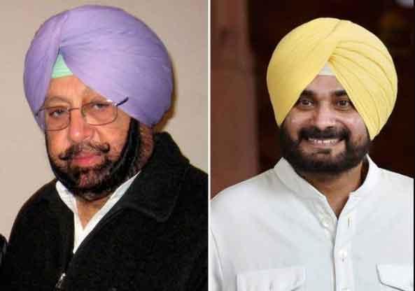 Amarinder Singh vs Sidhu