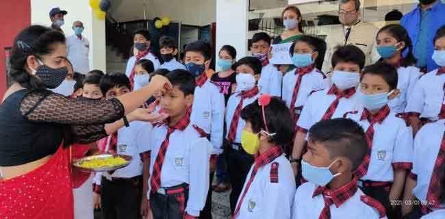 Children returned to schools sachkahoon