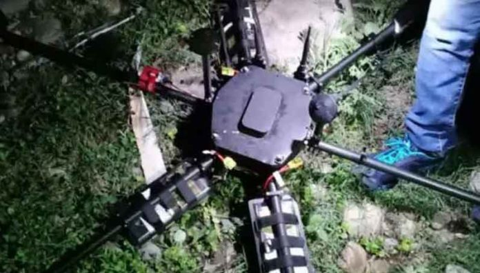 Police Shot Down Drone