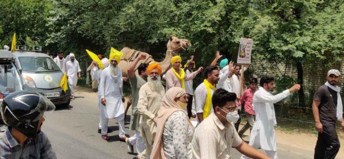 Farmers Demonstration