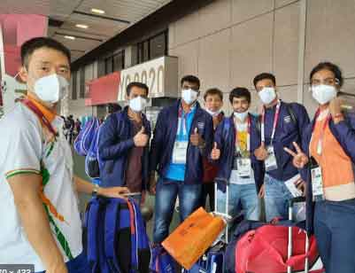Indian Olympic team
