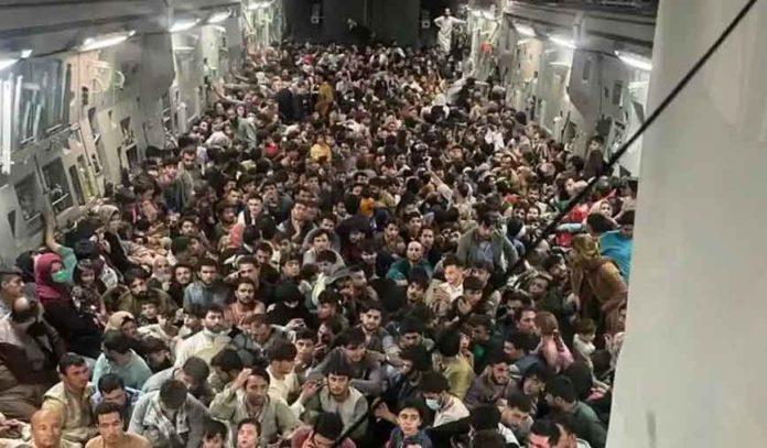 Kabul Plane Inside