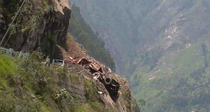 Landslide in Himachal