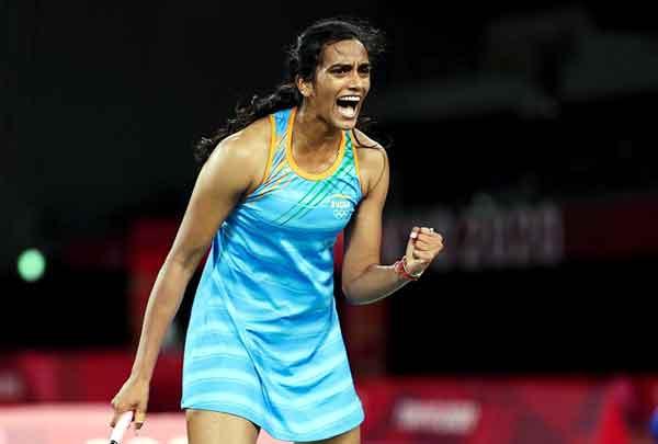 PV Sindhu won bronze