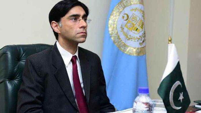 Pakistan NSA Moeed Yusuf sachkahoon