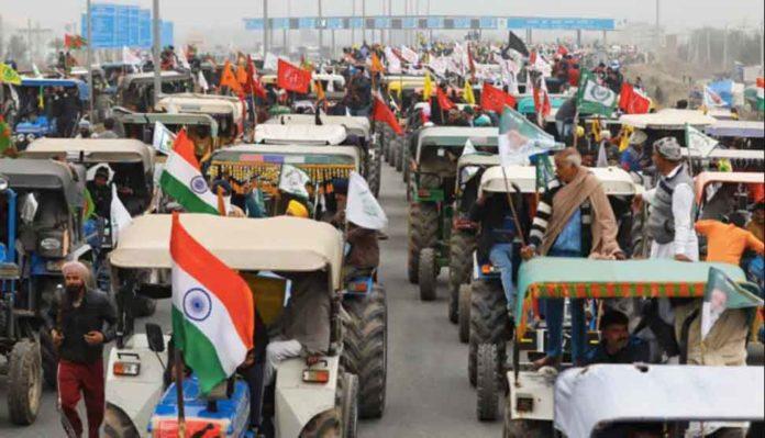 Farmer Tractor Parade