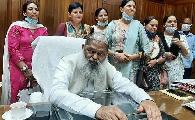 Health Minister Anil Vij sachkahoon