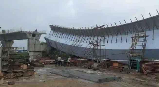 Mumbai Flyover Collapsed