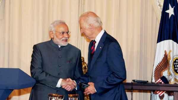 Talks between PM Modi and Joe Biden