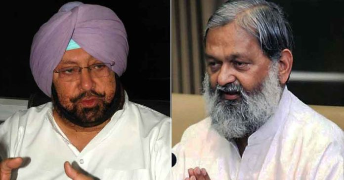 captain amarinder singh and anil vij sachkahoon