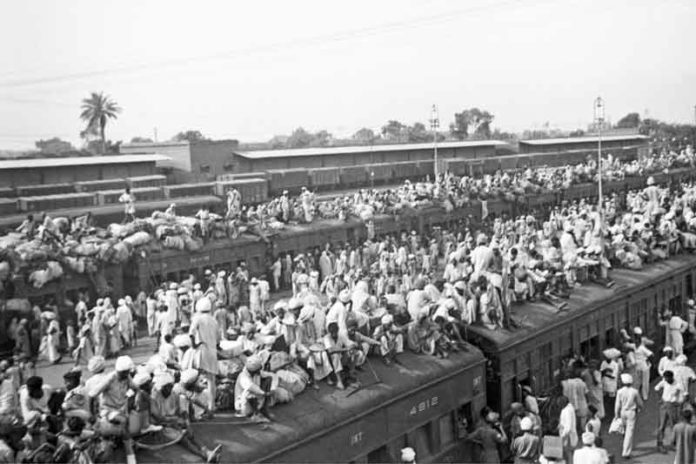 time of partition SACHKAHOON