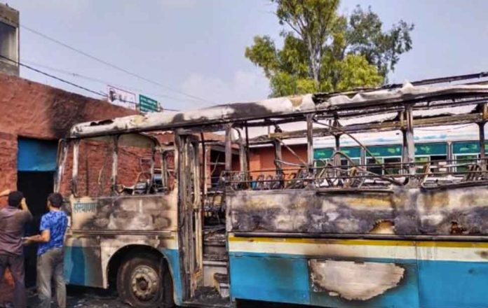 Haryana Roadways bus sachkahoon