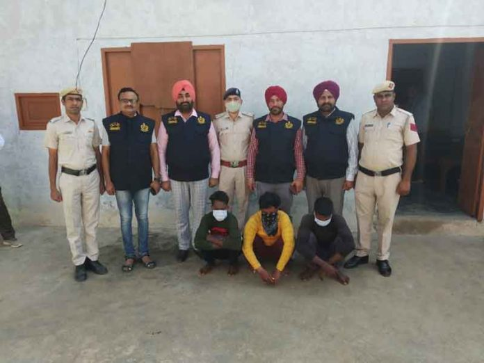 accused were arrested in the theft cases sachkahoon